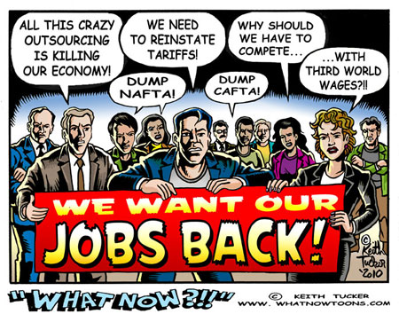 We Want Our Jobs Back!