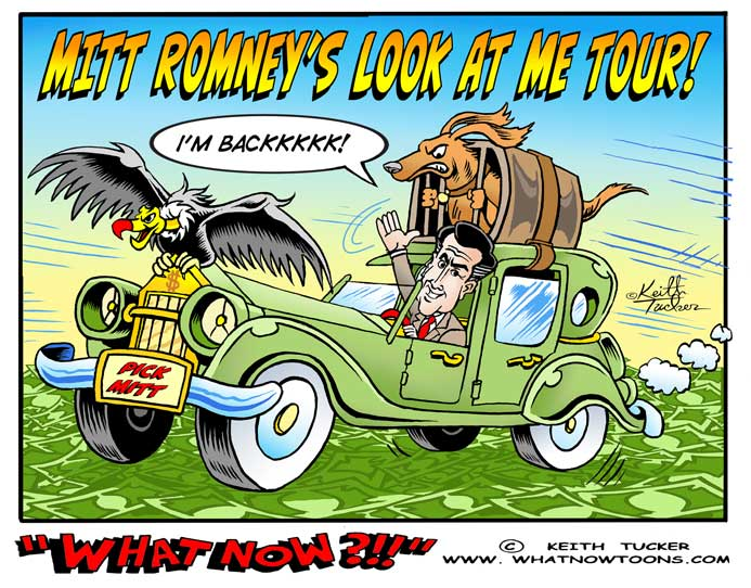 Mitt Romney, Mitt Romney Donald Trump, Elections 2016, 2016 Election, 2016 elections, presidential election, GOP candidates, Republican candidates, political cartoons, 2016 election cartoons,