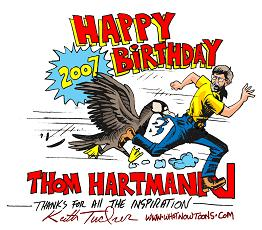 Happy Birthday to Air America's Thom Hartmann!!