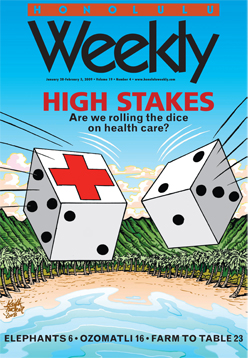 Honolulu Weekly Cover