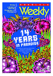 Honolulu Weekly July 13, 2005: 14th Anniversary issue