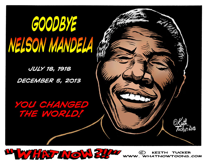 Obituaries, Barack Obama Nelson Mandela, Nelson Mandela, Nelson Mandela Anniversary, Nelson Mandela Day, Nelson Mandela Hospitalized, Nelson Mandela, Nelson Mandela Death, Nelson Mandela Obituary, Nelson Mandela South Africa, Winnie Mandela, Black Voices, political cartoons, Nelson Mandela cartoons, Nelson Mandela tributes