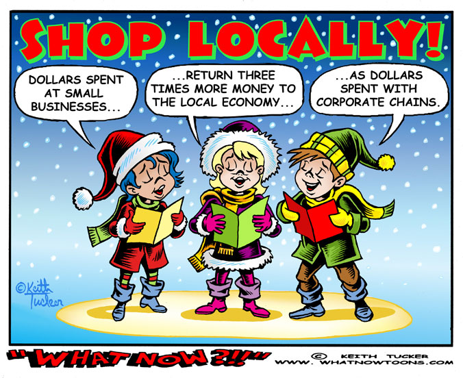 Black Friday, Black Friday, Sales & Shopping, Black Friday Shoppers, Black Friday Thanksgiving, Business News, political cartoons, Buy Local,local businesses, Reduce environmental impact, Invest in community, one-of-a-kind businesses, Christmas  shopping, holiday shopping, art fairs, shopping ideas