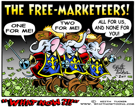 The Free Marketeers!